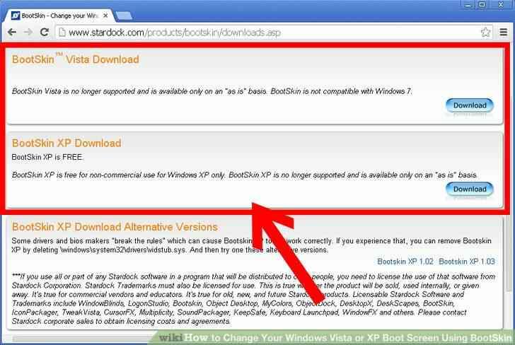 Imagen titulada Cambiar de Windows 2000 y XP Arranque Sceen el Uso de Stardock Paso 2