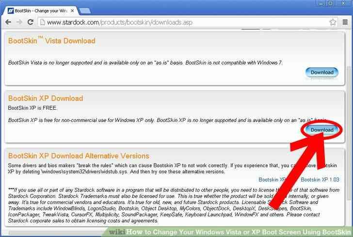 Imagen titulada Cambiar de Windows 2000 y XP Arranque Sceen el Uso de Stardock Paso 3