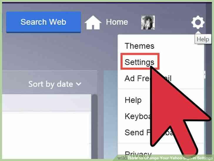 Imagen titulada Cambiar Tu cuenta de Yahoo Signo en la Configuración Paso 3