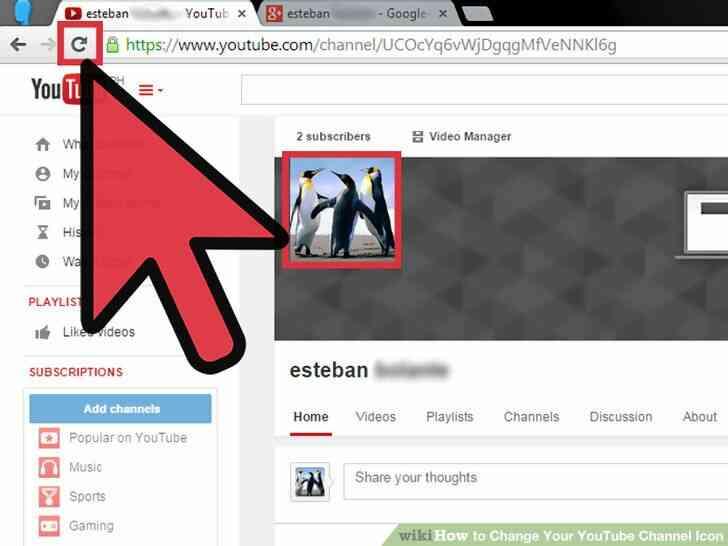 Imagen titulada Cambiar Su Canal de YouTube Icono Paso 14