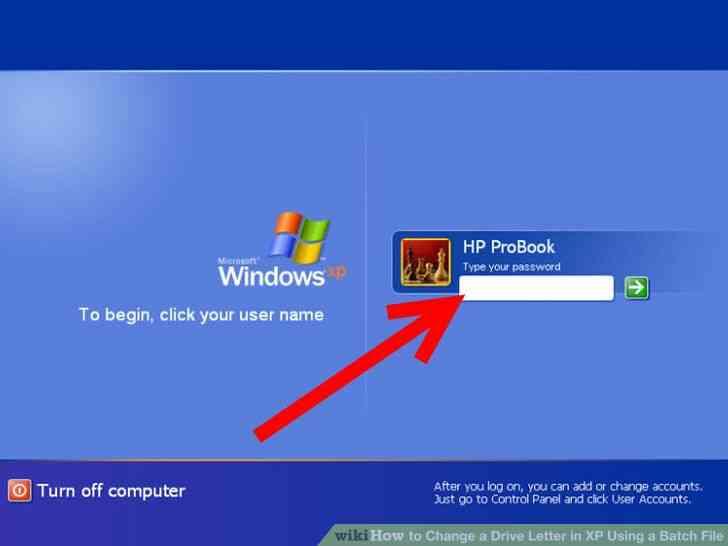 Imagen titulada Cambiar una Letra de Unidad en windows XP Mediante un Archivo por Lotes Paso 1