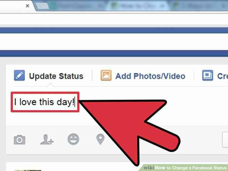 Imagen titulada Cambio de un Facebook de Estado de Paso de 6