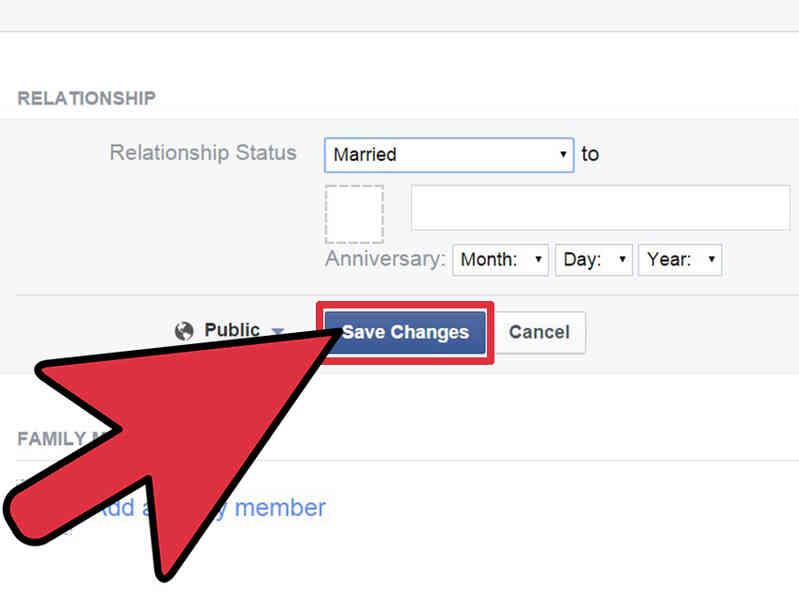 Cómo Cambiar un Facebook de Estado