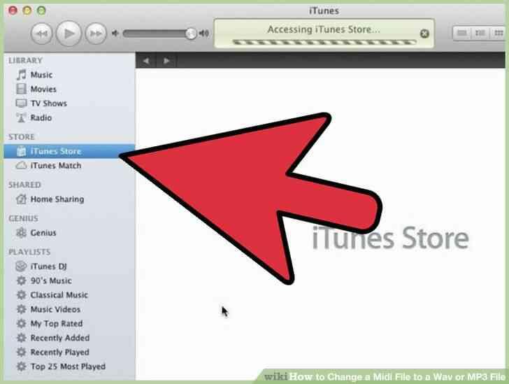 Imagen titulada Cambiar un Archivo Midi a Wav o MP3 Archivo Paso 1