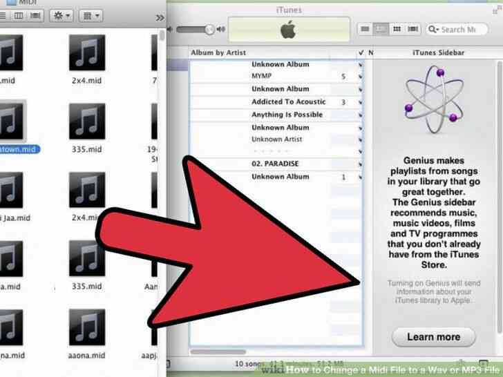 Imagen titulada Cambiar un Archivo Midi a Wav o MP3 Archivo Paso 2