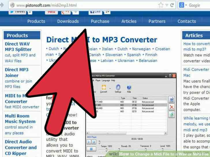 Imagen titulada Cambiar un Archivo Midi a Wav o MP3 Archivo Paso 13