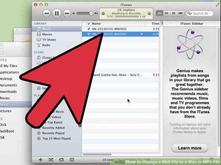 Imagen titulada Cambiar un Archivo Midi a Wav o MP3 Archivo de Paso 4