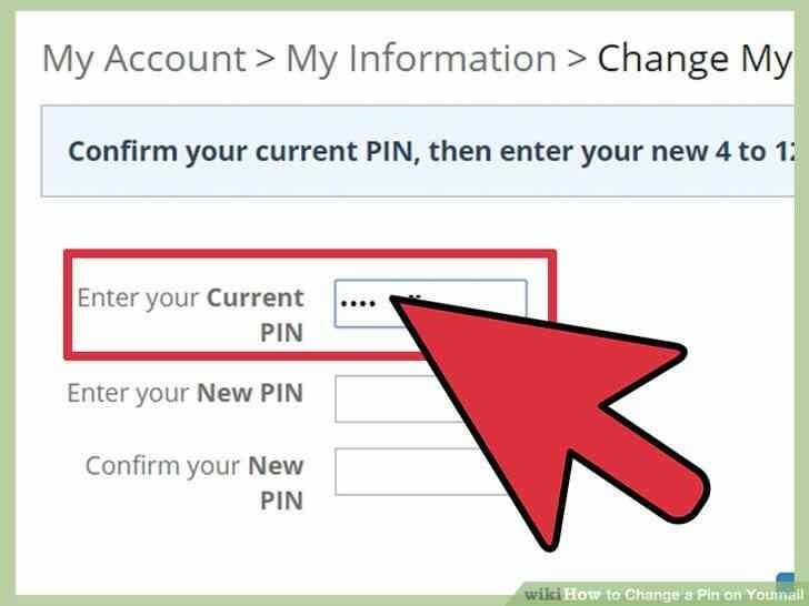 Imagen titulada Cambiar un Pin en Youmail Paso 4