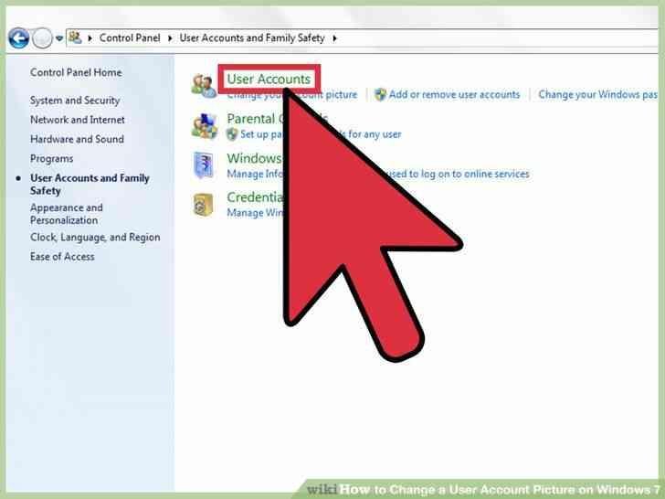 Imagen titulada Cambiar una Imagen de Cuenta de Usuario en Windows 7 Paso 2