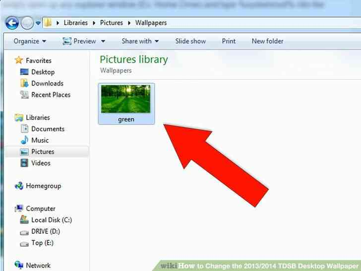 Imagen titulada Cambiar el 2013_2014 TDSB papel Tapiz de Desktop de Paso 4