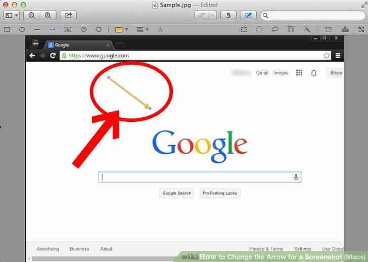 Imagen titulada Cambio de la Flecha para una Captura de pantalla (Mac) Paso 6