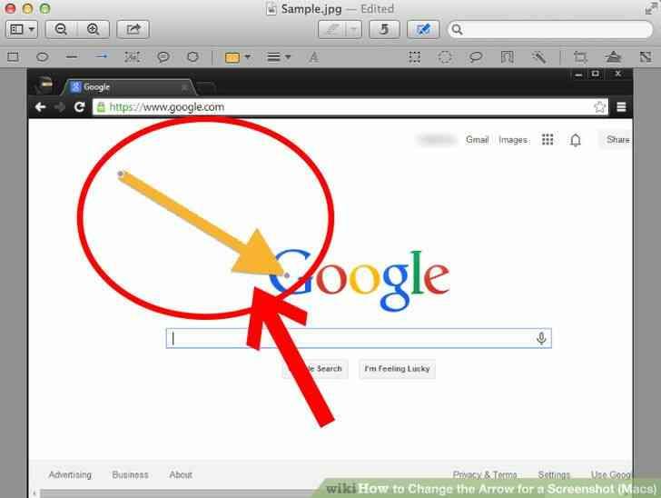 Imagen titulada Cambio de la Flecha para una Captura de pantalla (Mac) Paso 11