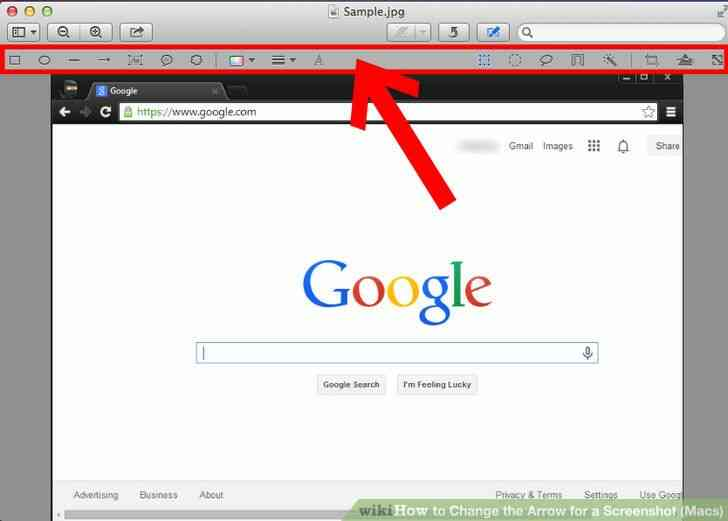 Imagen titulada Cambio de la Flecha para una Captura de pantalla (Mac) Paso 2Bullet1