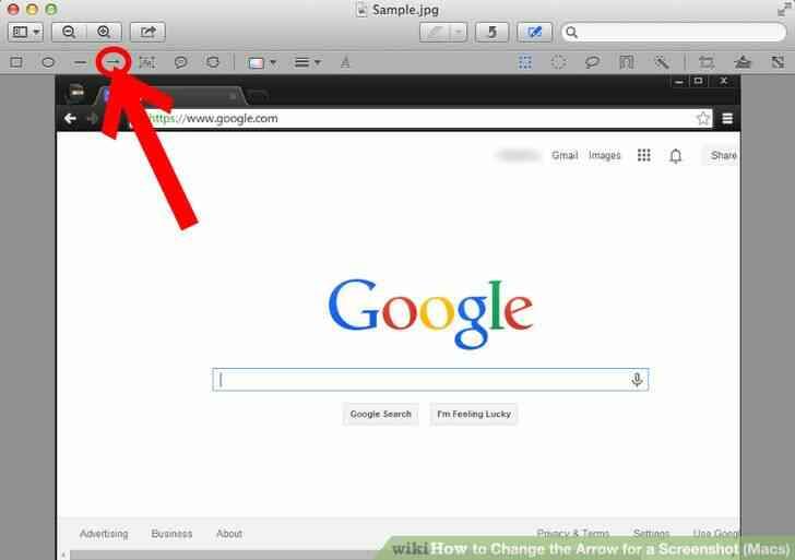 Imagen titulada Cambio de la Flecha para una Captura de pantalla (Mac) Paso 3