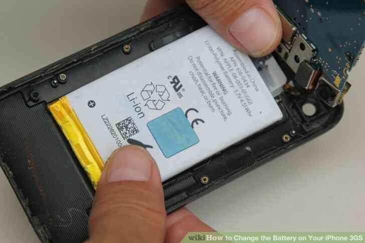 Imagen titulada Cambiar la Batería de Su iPhone 3GS Paso 8