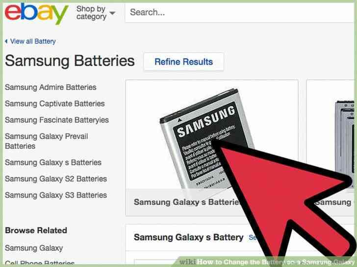 Imagen titulada Cambio de la Batería de un Samsung Galaxy Paso 5