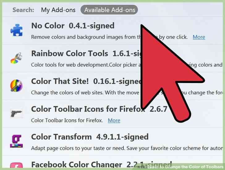 Imagen titulada Cambiar el Color de las Barras de herramientas de Paso 24