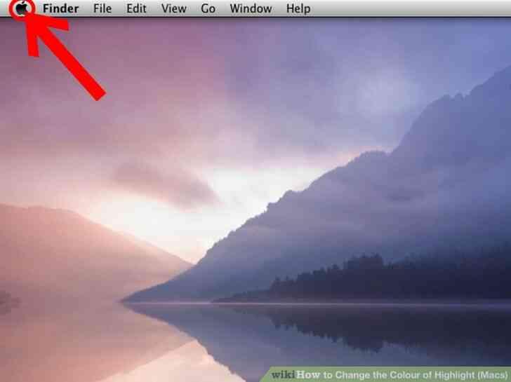 Imagen titulada Cambiar el Color de Resalte (Macs) Paso 1