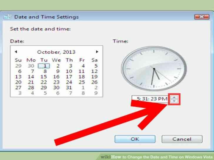 Imagen titulada Cambiar la Fecha y la Hora en Windows Vista Paso 4