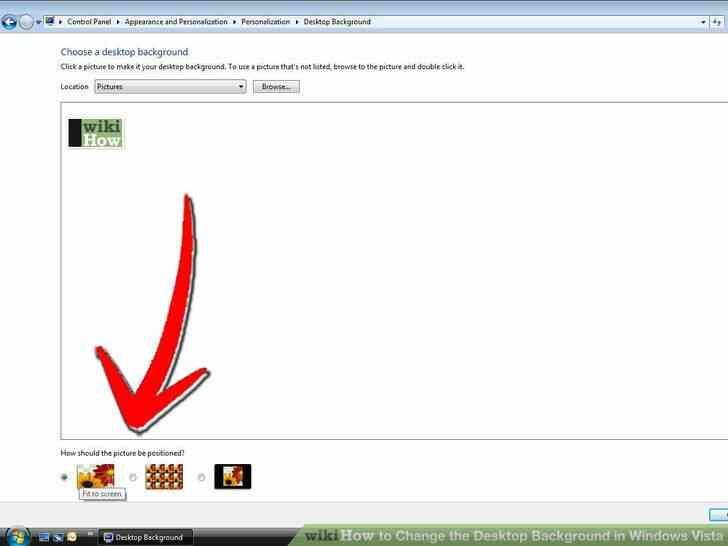 Imagen titulada Cambiar el Fondo del Escritorio en Windows Vista Paso 7