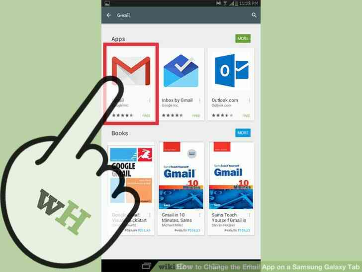 Imagen titulada Cambiar la Aplicación de Correo electrónico en un Samsung Galaxy Tab Paso 3