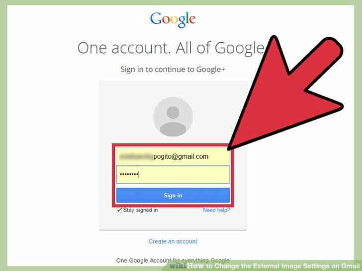 Imagen titulada Cambiar la Imagen Externa de la Configuración en Gmail Paso 2