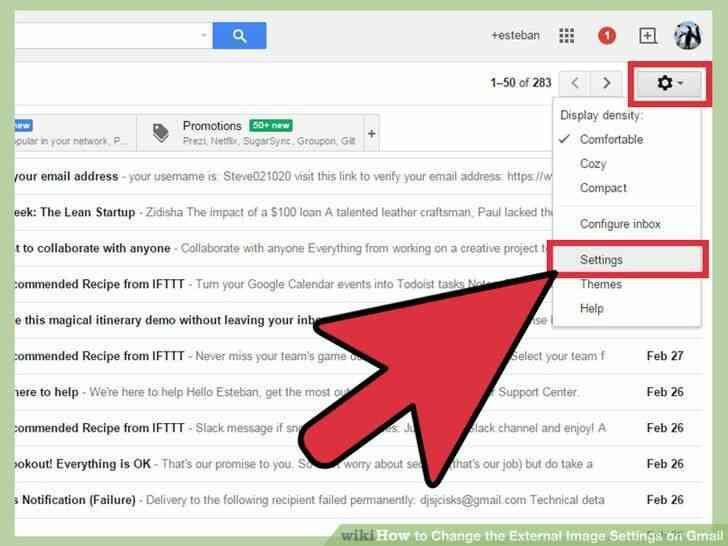 Imagen titulada Cambiar la Imagen Externa de la Configuración en Gmail Paso 3