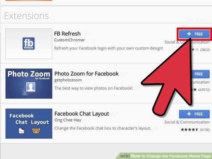 Imagen titulada Cambiar el Facebook Página de Inicio Paso 4