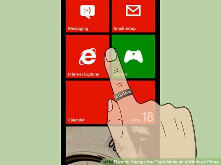 Imagen titulada Activar el Modo de Vuelo en el Teléfono de Windows 7 Paso 1