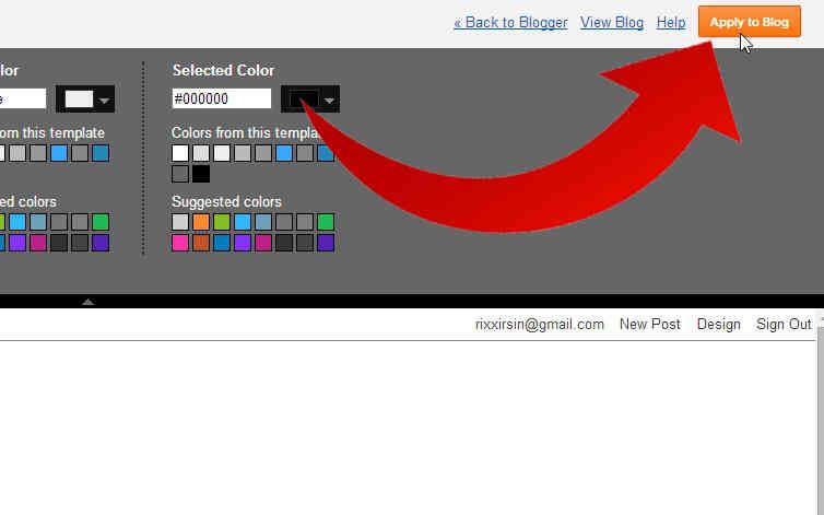 Cómo Cambiar la Fuente en Blogger