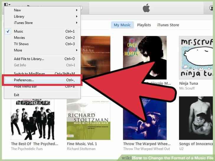 Imagen titulada Cambiar el Formato de un Archivo de Música en el Paso 3