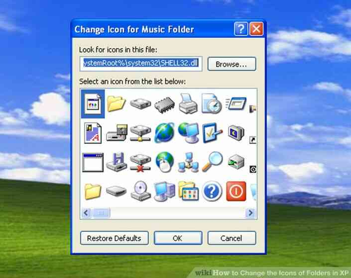 Imagen titulada Cambiar los Iconos de Carpetas en XP Paso 4