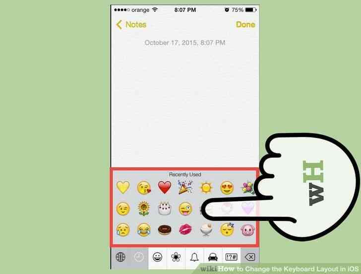 Imagen titulada Cambiar la distribución del Teclado en iOS Paso 10