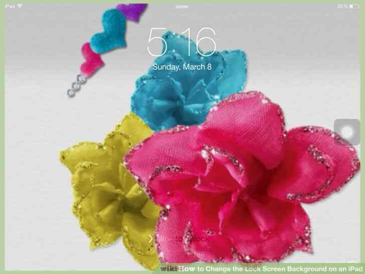 Imagen titulada Cambiar la Cerradura de Fondo de la Pantalla en un iPad Paso 10