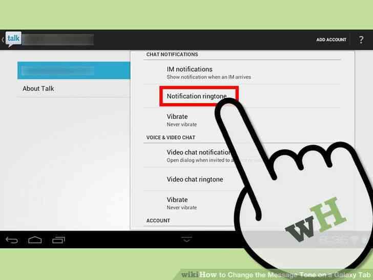Imagen titulada Cambiar el Tono de Mensaje en una Galaxy Tab Paso 7