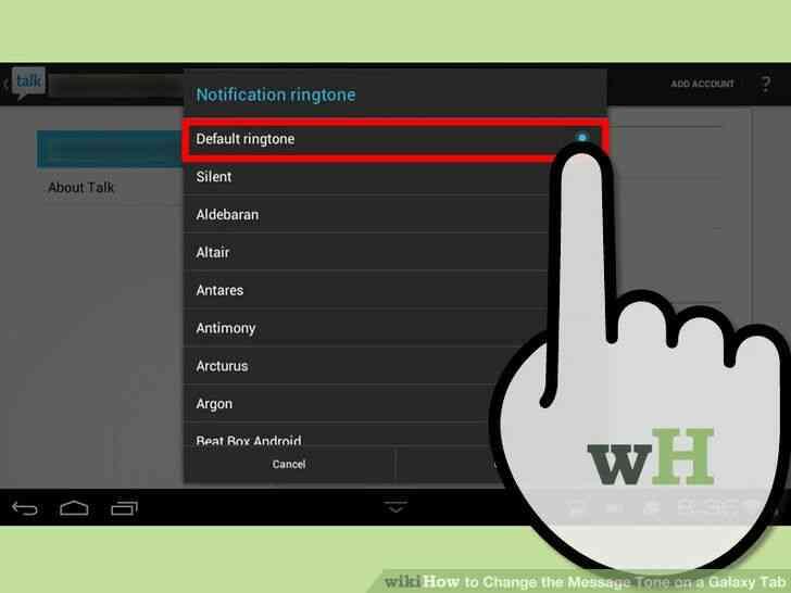 Imagen titulada Cambiar el Tono de Mensaje en una Galaxy Tab Paso 8