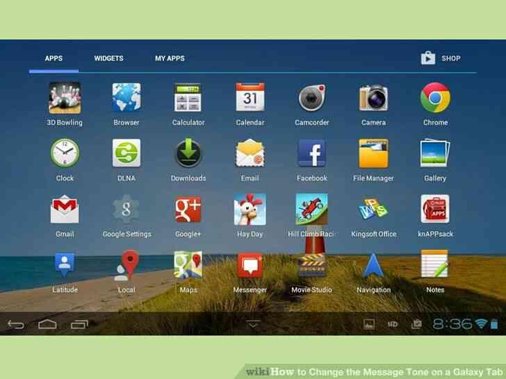 Imagen titulada Cambiar el Tono de Mensaje en una Galaxy Tab Paso 10