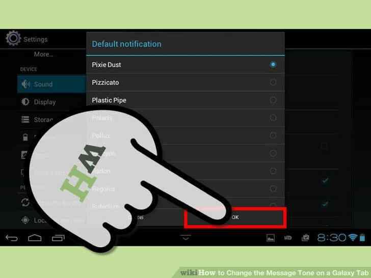 Imagen titulada Cambiar el Tono de Mensaje en una Galaxy Tab Paso 18