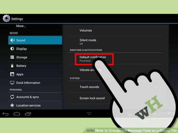 Imagen titulada Cambiar el Tono de Mensaje en una Galaxy Tab Paso 3