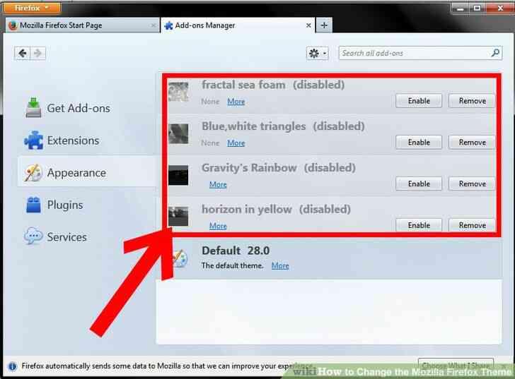 Imagen titulada Cambiar el Mozilla Firefox Tema Paso 4