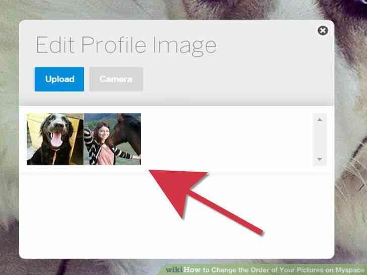 Imagen titulada Cambiar el Orden de las Fotos en Myspace Paso 4
