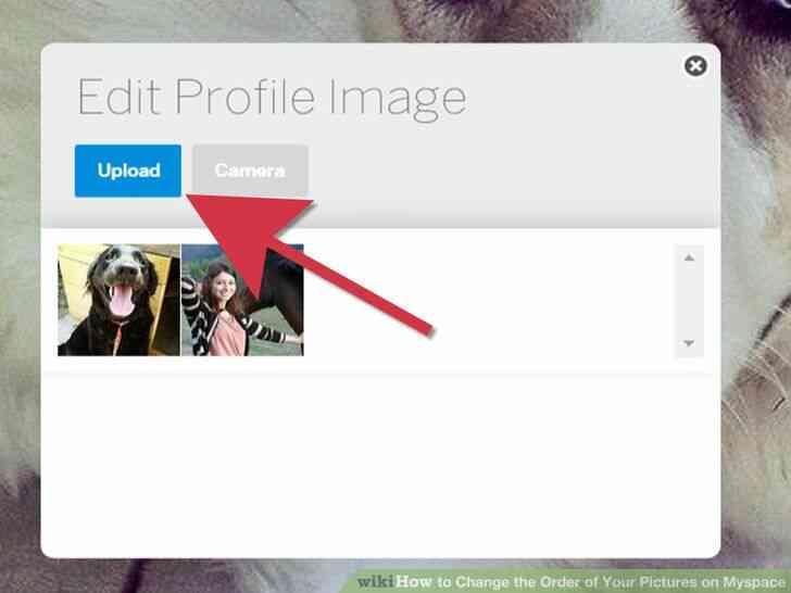 Imagen titulada Cambiar el Orden de las Fotos en Myspace Paso 5