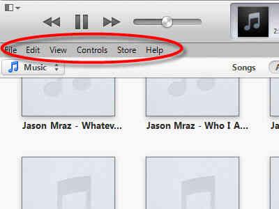 Imagen titulada Cambiar la Configuración en el Modo Visual en iTunes el Paso 2