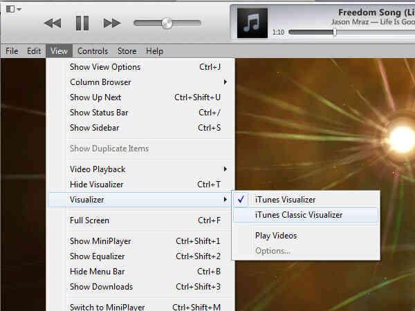 Imagen titulada Cambiar la Configuración en el Modo Visual en iTunes el Paso 5