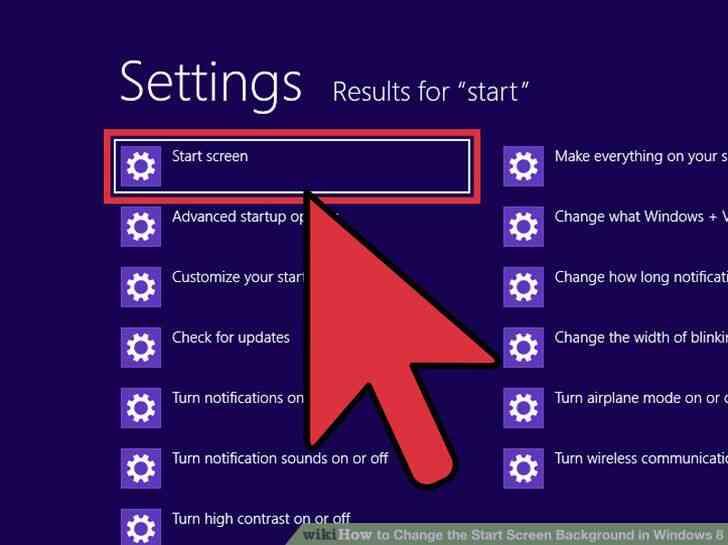 Imagen titulada Cambiar el Inicio Fondo de Pantalla en Windows 8 Paso 4