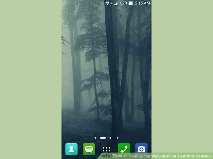 Imagen titulada Cambiar el fondo de pantalla de un Dispositivo Android Paso 1