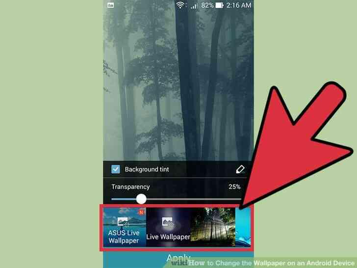 Imagen titulada Cambiar el fondo de pantalla de un Dispositivo Android Paso 3