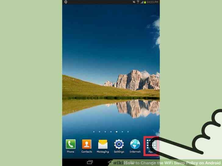 Imagen titulada Cambiar el WiFi Sueño Política en Android Paso 7