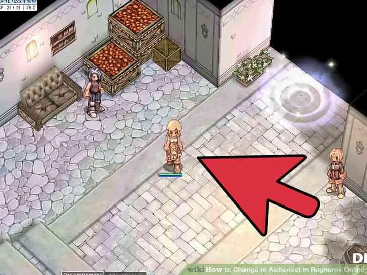 Imagen titulada Cambio de Alquimista en Ragnarok Online Paso 6