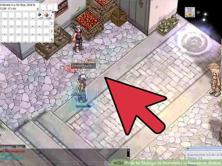 Imagen titulada Cambio de Alquimista en Ragnarok Online Paso 9